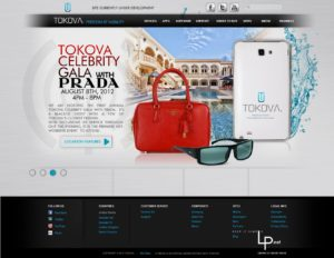 TOKOVA - Website Design & Branding
