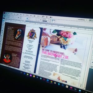 Layout & Design  - Adobe Indesign