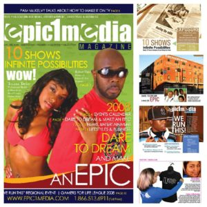 Epic 1 Media Magazine  - First Issue - 2008